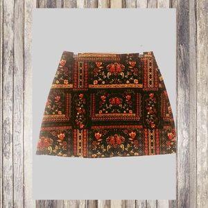 H&M ❤️ Coachella ❤️Velvet Skirt